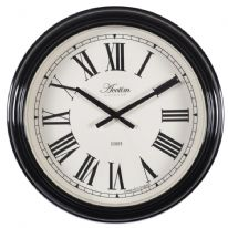 Acctim Higham Xl Station Clock - Black